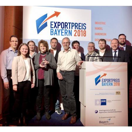 Deffner & Johann gewinnt Bayerischen Exportpreis 2018