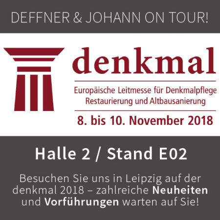 Deffner & Johann on Tour: denkmal, Leipzig 2018