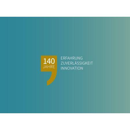 Erfahrung, Zuverlässigkeit, Innovation - Deffner & Johann feiert 140 Jahre Jubiläum