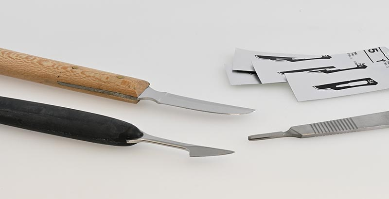 Scraping Knives & Scalpels