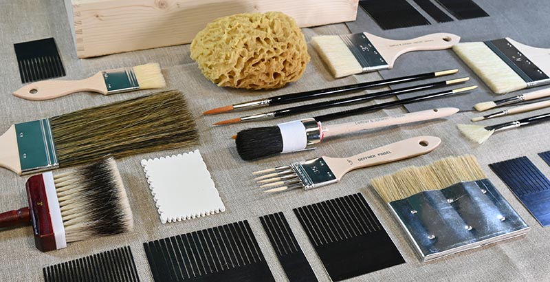 Imitating and Faux-finishing Tools