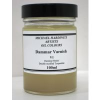 Michael Harding Dammar Varnish V1, 100 ml