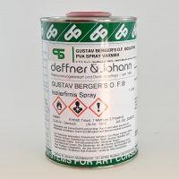 Gustav Berger's O. F.® Isolating Varnish, 1 l Spray