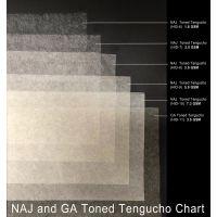 Hiromi Japan Papier - Toned Tengucho, 7,3 g (Rolle)