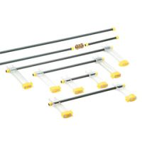Berna Multiclamps Light, Span 250 mm, Arm 100 mm, 100 g