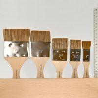 Ox Hair Brush (Varnish Brush), flat