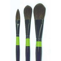 "Special Oval Flat Brush ""black-line"""