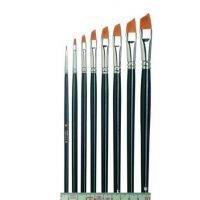 Tiziano Oil Painting Brush, oblique, flat