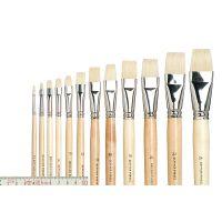 Bristle Artists' Brush, flat straight