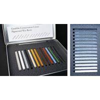 "GAMBLIN 12 Color Set – one each of ""single stick"" colors"