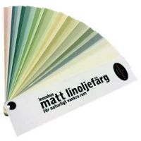 Ottosson Matt Linseed Oil Paint Chart