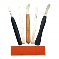 Freilegemesser-Set (5 Stück)