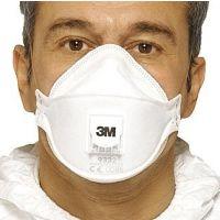 3M™ 9332 Atemschutzmaske mit Ventil FFP3 (10 St./pc.)
