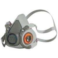 3M™ Doppelfiltermaske, Serie 6000, groß, Set mit Filtern