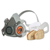 3M™ Farbspritzmasken-Set A2/P2 Serie 6000
