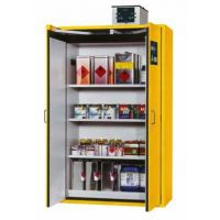 Safety Cabinet S-CLASSIC, Width 1200 mm, Savety Yellow RAL 1004