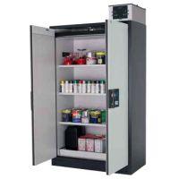 Sicherheitsschrank Q-PEGASUS-90, Breite 1200 mm, Tür: Lichtgrau RAL 7035