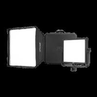 F&V LED Atelierpanel Z400S Soft Bi-Color Kit, inkl. Softbox und Pro Case