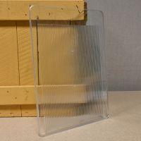 Ersatz-Frontglas für OPUS 2, glasklar