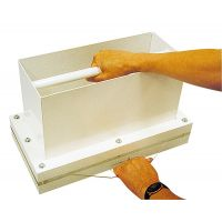 BMZ Leaf Casting Box, 410 x 160 mm
