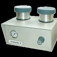 Resko Airblaster II WPS Feinstrahlgerät inkl. 3 Düsen (0,8 mm / 1,2 mm / 1,8 mm), inkl. 2 x Einhanddüsen und Servoventil