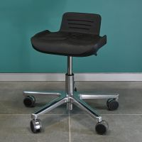 RESKO Work Stool with PU-Seat, high