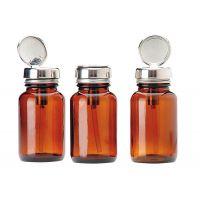 Rekomat Pump Dispenser, Brown Glass, 100 ml