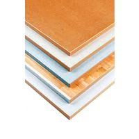 Tischplatte - 1600 x 800 x 22 mm, Laminat grau