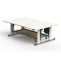 Abraflex - Multifunktionale Arbeitsstation 802, 140 x 100 cm
