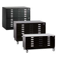 Drawer Cabinet, black
