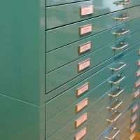Drawer Cabinet, grey