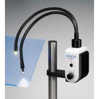 Schwanenhals-Lichtleiter, 2-armig für Schott Kaltlichtquelle KL 200 LED und 300 LED