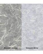 Hiromi Japanese Paper - Kinwashi White (roll)