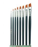 Tiziano Oil Painting Brush, oblique, flat