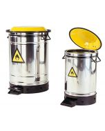 Stainless Steel Safety Container, 50 l