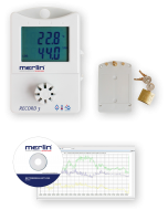 merlin® Datenlogger Set RECORD 3