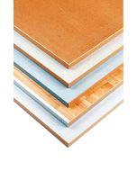Tischplatte - 1600 x 800 x 40 mm, Laminat grau