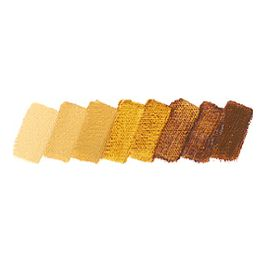 Mussini Artist's Resin Oil Colours Lasur-Oxid-Gelb, 35 ml
