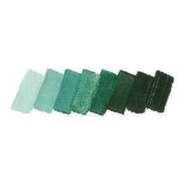 Mussini Artist's Resin Oil Colours Chrome Green Hue Dark, 35 ml