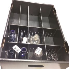 Compartment Insert for Depotainer, Height 220 mm for Depotainer 17, 30, 35