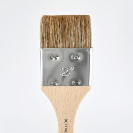 """Ox Hair Brush (varnishing brush) flat, size 2"""""""