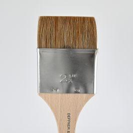 """Ox Hair Brush (varnishing brush) flat, size 2,5"""""""
