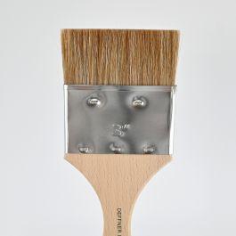 """Ox Hair Brush (varnishing brush) flat, size 3"""""""