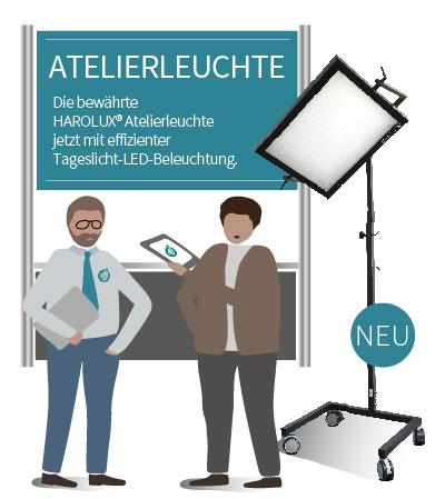 140 Jahre Jubilaeum von Deffner und Johann - Harolux Atelierleuchte LED