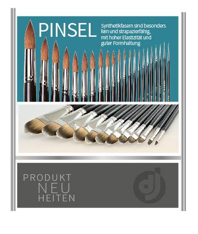 Pinsel - seit 1880 im Deffner und Johann Sortiment