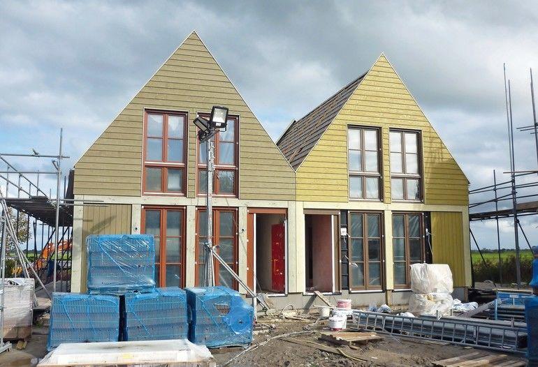 Leinölfarben erfreuen sich wieder großer Beliebtheit – auch an modernen Gebäuden werden sie zunehmend eingesetzt. Grund dafür sind nicht nur ihre anstrichtechnischen Eigenschaften, sondern auch die Umweltverträglichkeit. Foto: Ottosson