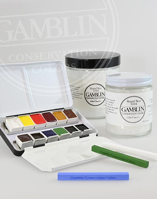gamblin conservation colors at Deffner & Johann